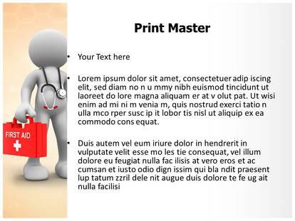 3d doctor powerpoint template background subscriptiontemplates 1g 2g 3g toneelgroepblik Images