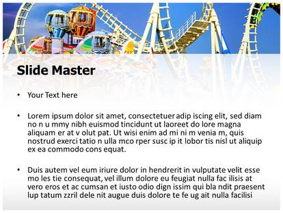 Amusement park powerpoint template background amusement park powerpoint template 00202 standard 43 1g 2g toneelgroepblik Image collections