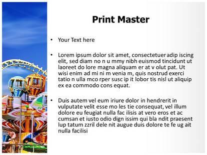 Amusement park powerpoint template background amusement park powerpoint template 00202 standard 43 1g 2g 3g toneelgroepblik Image collections