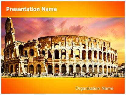Ancient rome powerpoint template background 1g toneelgroepblik Choice Image