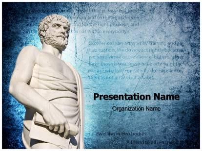Aristotle powerpoint template background subscriptiontemplates 1g toneelgroepblik Choice Image