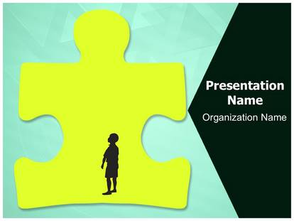 Autism research powerpoint template background 1g toneelgroepblik Images