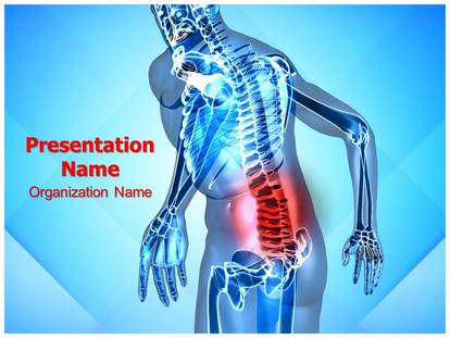 Back pain powerpoint template background subscriptiontemplates 1g toneelgroepblik Image collections