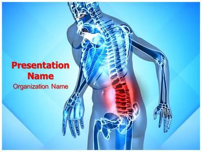 Back pain powerpoint template background subscriptiontemplates 1g toneelgroepblik Images
