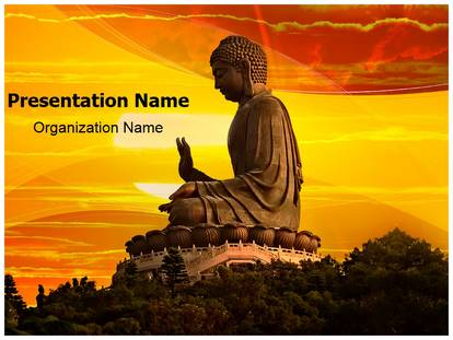 Buddhism powerpoint template background subscriptiontemplates 1g toneelgroepblik Choice Image