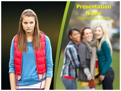 Bullying powerpoint template background subscriptiontemplates 1g toneelgroepblik Images