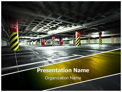Car parking lot powerpoint template background 1g toneelgroepblik Choice Image