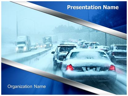 chicago weather powerpoint template background