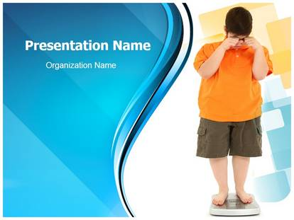 childhood obesity powerpoint templates child obesity powerpoint template background