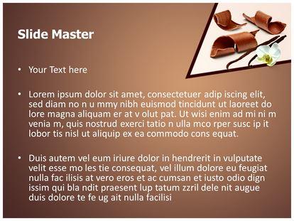 Chocolate vanilla powerpoint template background 1g 2g toneelgroepblik Image collections