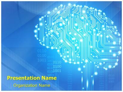 Circuit brain powerpoint template background subscriptiontemplates 1g toneelgroepblik Images