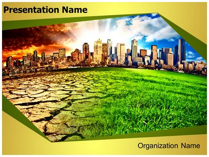 climate change powerpoint template background, Modern powerpoint