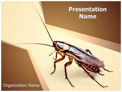 cockroach powerpoint template background | subscriptiontemplates, Modern powerpoint