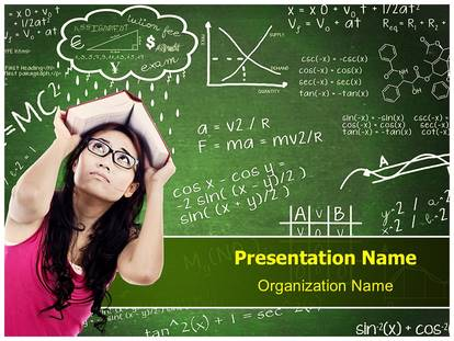 confused student powerpoint template background, Student Presentation Template, Presentation templates