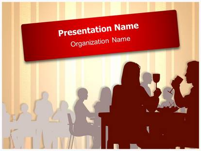 Drinking dining restaurant powerpoint template background 1g toneelgroepblik Image collections