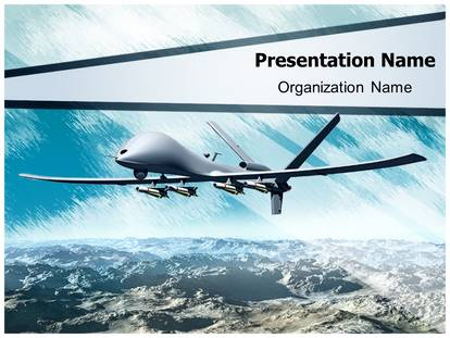 Drone aircraft powerpoint template background 1g toneelgroepblik Gallery