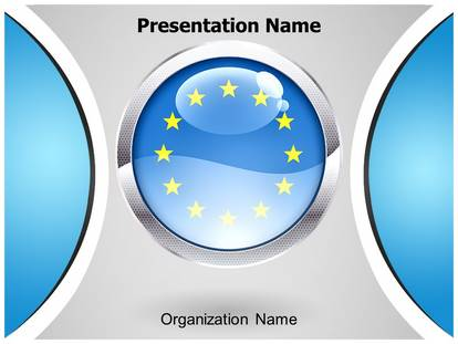 european union powerpoint template background, Modern powerpoint