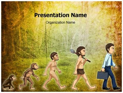 Evolution of man powerpoint template background 1g toneelgroepblik Image collections