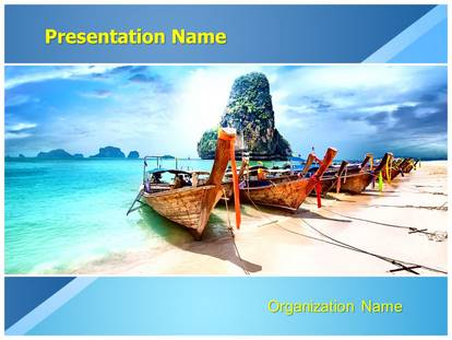 Exotic tourism powerpoint template background 1g toneelgroepblik Image collections
