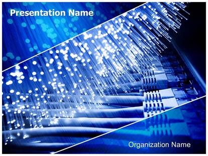 Fiber optics powerpoint template background 1g toneelgroepblik Images