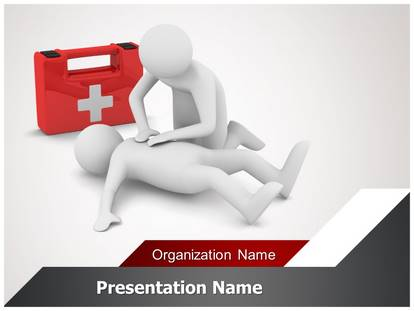 first aid powerpoint template background | subscriptiontemplates, Powerpoint templates