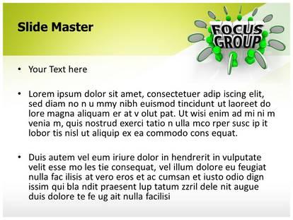 focus group powerpoint template background | subscriptiontemplates, Presentation templates