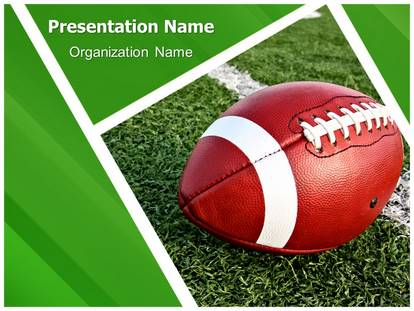 football rugby powerpoint template background. Black Bedroom Furniture Sets. Home Design Ideas