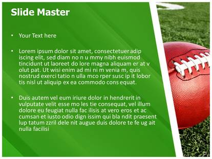Powerpoint Football Template blueplaidnet – Football Powerpoint Template