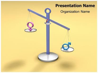 Gender discrimination animated powerpoint template video 1 toneelgroepblik Choice Image