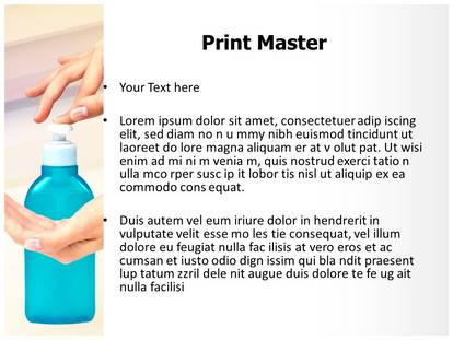 Hand sanitizer template gallery templates design ideas hand sanitizer powerpoint template background 1g 2g 3g pronofoot35fo gallery pronofoot35fo Images