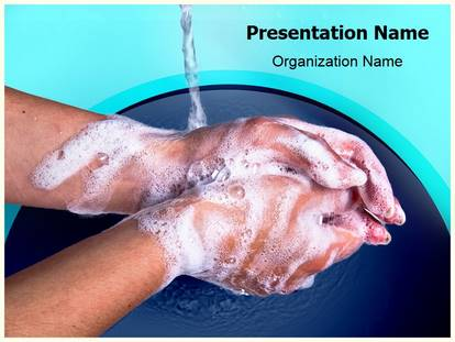 Hand washing powerpoint template background 1g toneelgroepblik Image collections