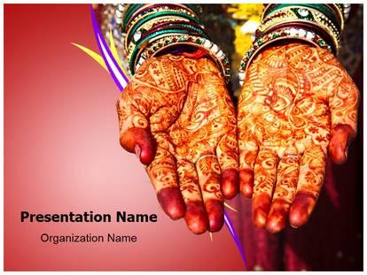 Henna mehndi powerpoint template background subscriptiontemplates 1g toneelgroepblik Choice Image