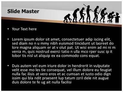 Human evolution powerpoint template background 1g 2g toneelgroepblik Images
