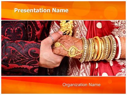 indian wedding ceremony powerpoint template background, Powerpoint templates