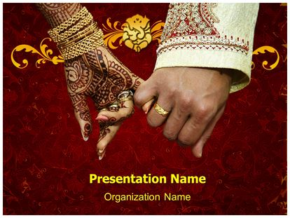 indian wedding powerpoint template background, Powerpoint templates