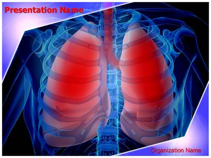Infected lungs powerpoint template background 1g toneelgroepblik Choice Image