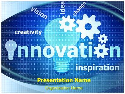 innovation powerpoint template background subscriptiontemplates com