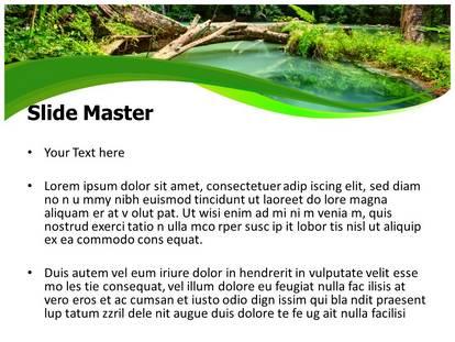 Jungle green powerpoint template background subscriptiontemplates 1g 2g toneelgroepblik Choice Image