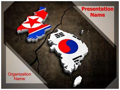 Korean crisis powerpoint template background subscriptiontemplates 1g toneelgroepblik Image collections