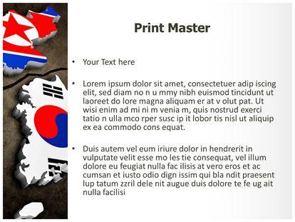 Korean crisis powerpoint template background 1g 2g 3g toneelgroepblik Images