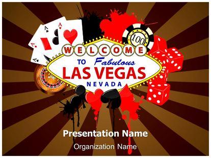 Las Vegas Casino Powerpoint Template Background