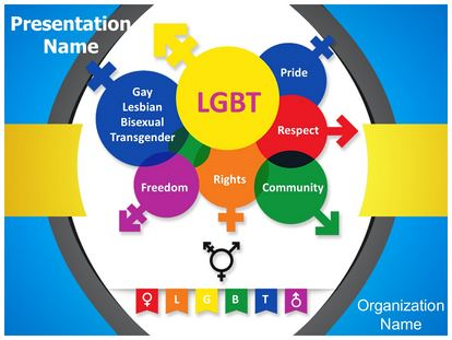 Lgbt Powerpoint Template Background