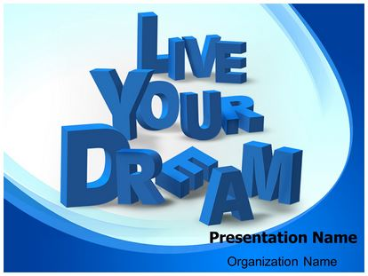 Live Your Dream Ppt Background Low Big on Food Chain Powerpoint