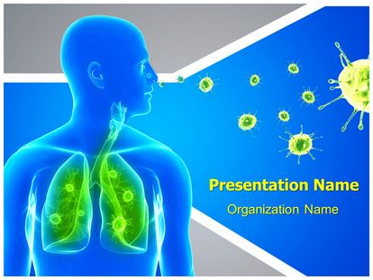 Lung infection powerpoint template background 1g toneelgroepblik Gallery