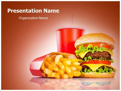 Mc Donald Free Powerpoint Template Subscriptiontemplates Com