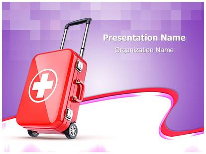 Medical tourism powerpoint template background 1g pronofoot35fo Image collections