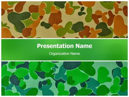 Military camo powerpoint template background 1g toneelgroepblik Image collections