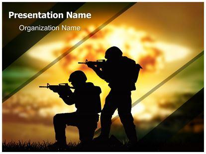 Military soldiers war powerpoint template background 1g toneelgroepblik Gallery