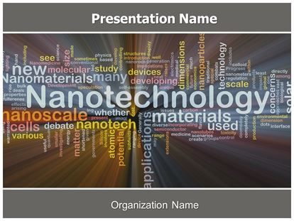 Nanotechnology free powerpoint template subscriptiontemplates nanotechnology free powerpoint template 09179 standard 43 1 toneelgroepblik Choice Image