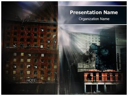 Natural disaster powerpoint template background 1g toneelgroepblik Choice Image